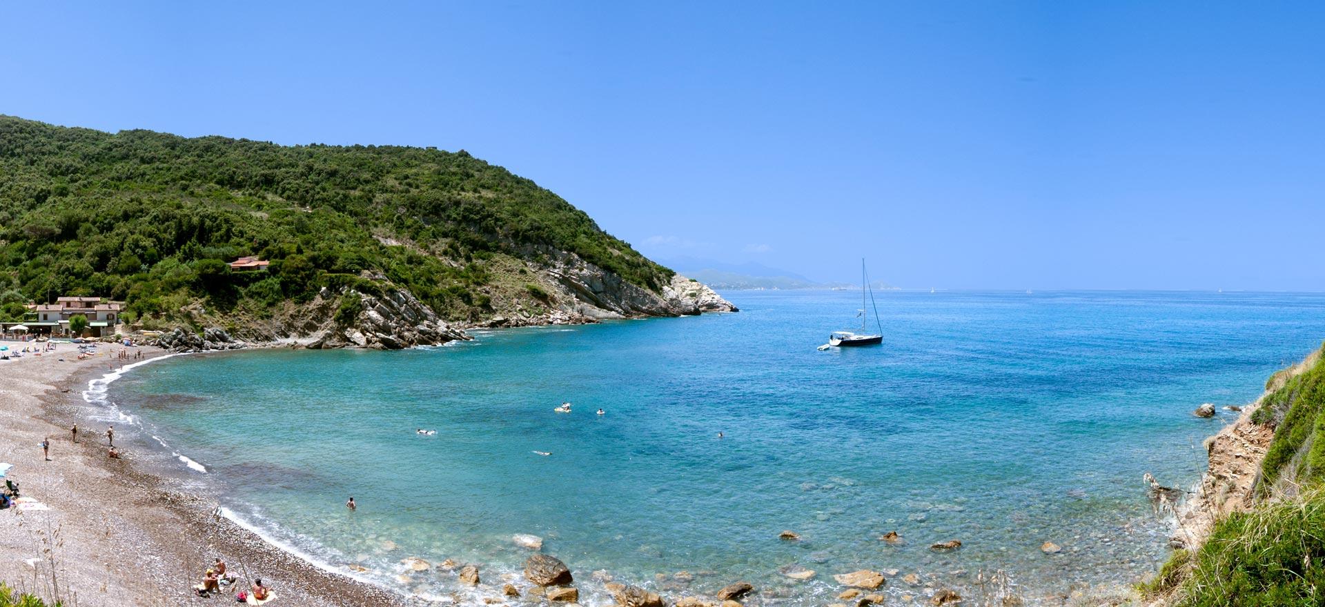 Ferienwohnungen nähe am Meer auf Elba | Residence Nisportino Domus